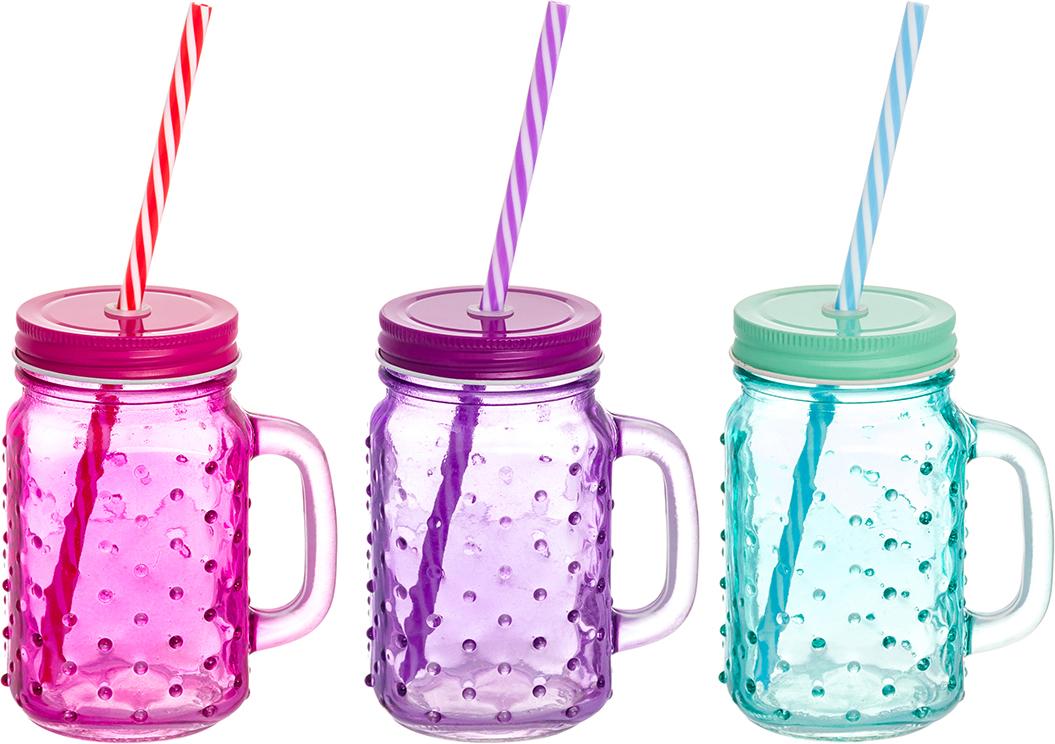 Набор цветных кружек Elan Gallery Пузыри, для глинтвейна, коктейля. 300100