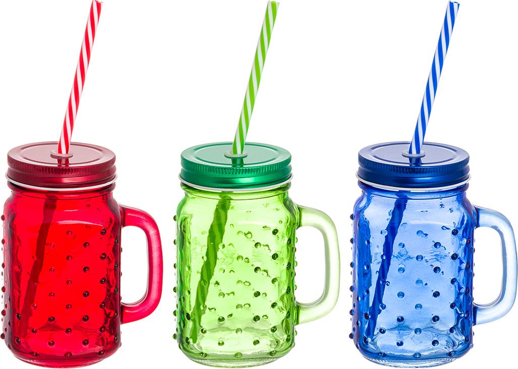 Набор цветных кружек Elan Gallery Пузыри, для глинтвейна, коктейля. 300101 набор для специй elan gallery кружки оранжевые 2 предмета с крышками