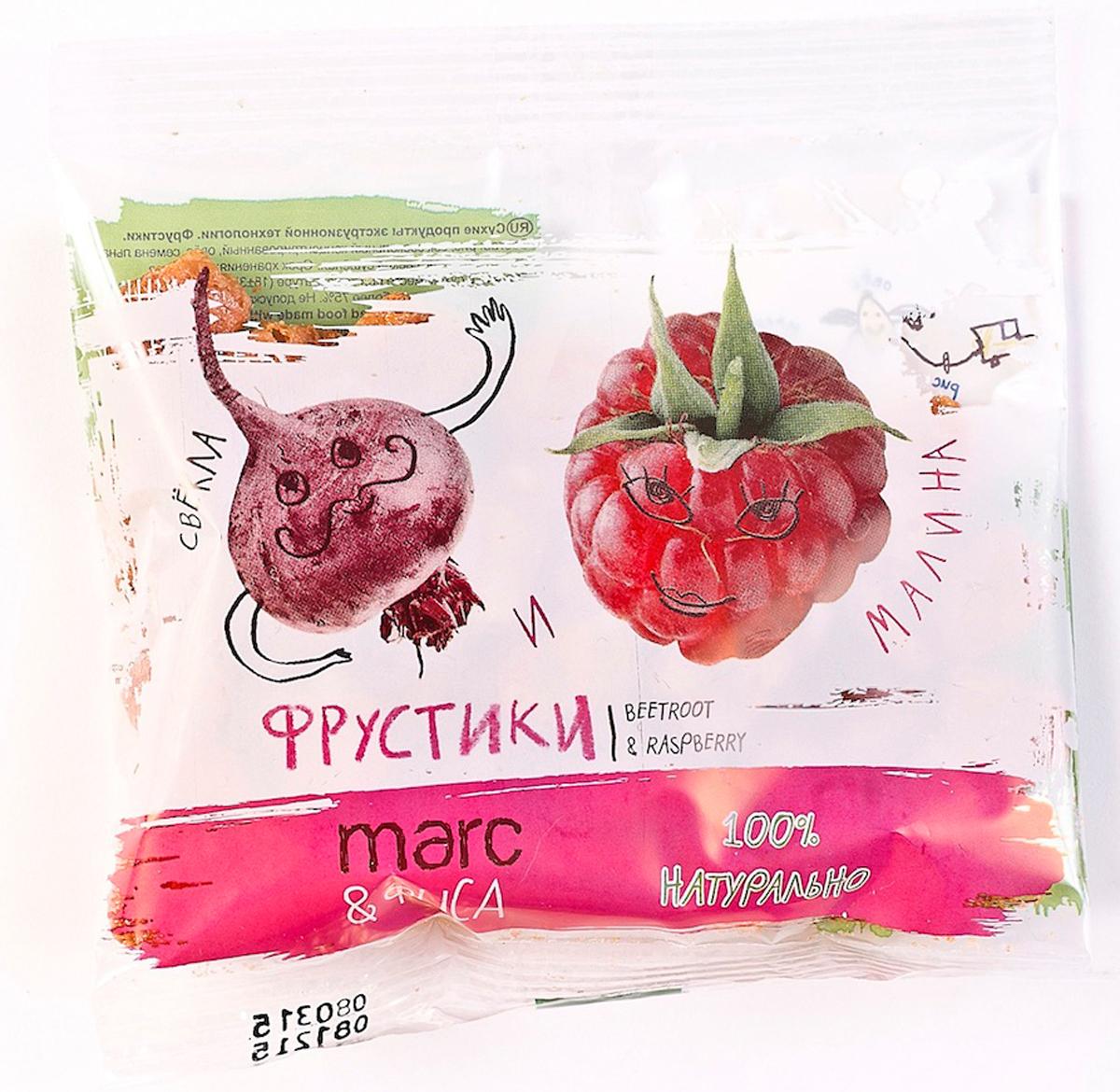 Marc&Фиса фрустики свекла и малина, 15 г Marc&Фиса