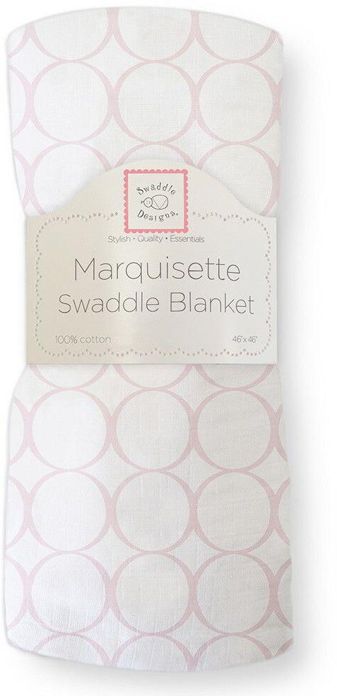 SwaddleDesigns Пеленка тонкая Marquisette Pink Mod on WH