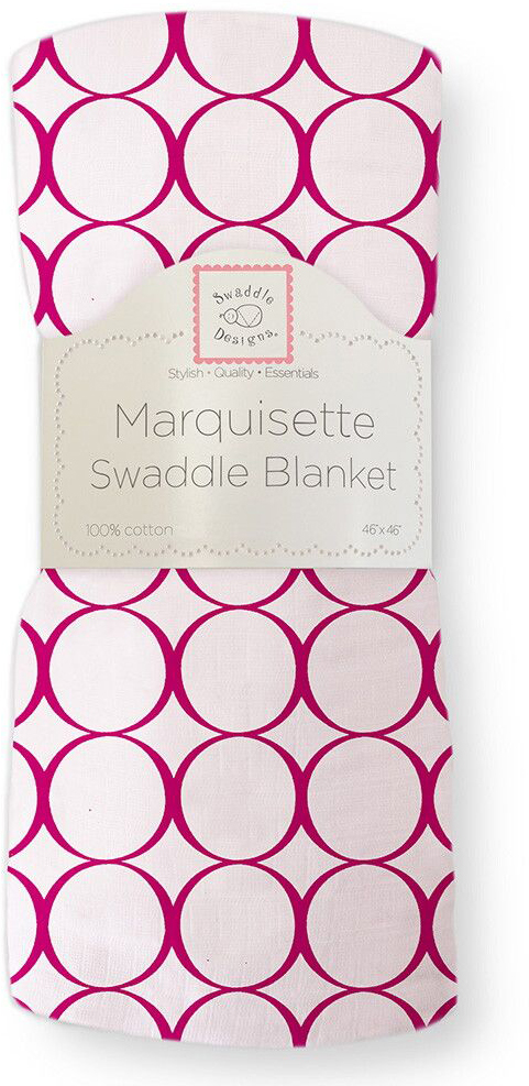 SwaddleDesigns Пеленка тонкая Marquisette Very Berry Mod C