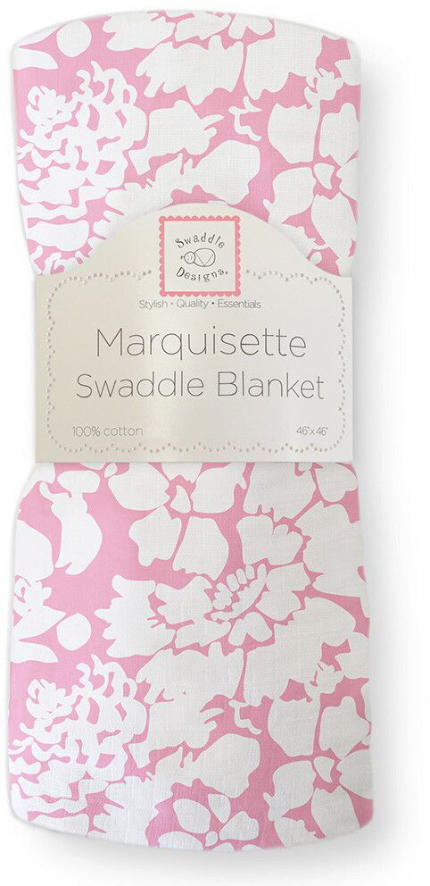SwaddleDesigns Пеленка тонкая Marquisette Pink Lush цены