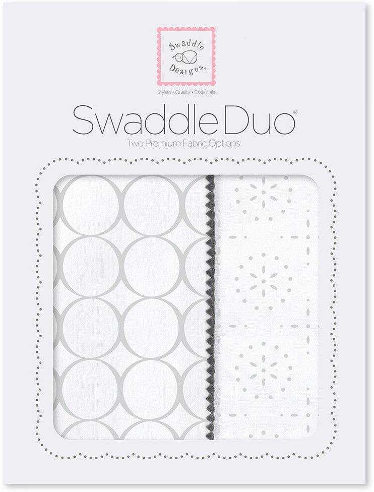 SwaddleDesigns Набор Swaddle Duo ST Mod C Sparklers 2 шт