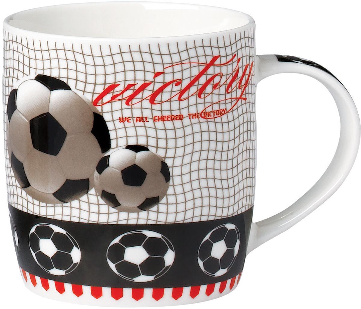 Кружка Rainbow Футбол, 350 мл. TLND1-85 кружка кофе 350 мл nuova r2s s p a кружка кофе 350 мл