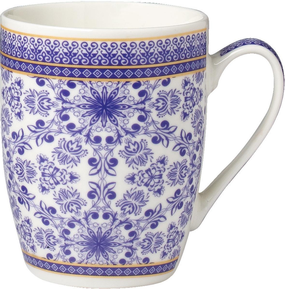 """Кружка """"Rainbow"""" выполнена из высококачественного фарфора. Посуда из такого материала позволяет сохранить истинный вкус напитка, а также помогает дольше оставаться теплым. Кружка оснащена очень удобной ручкой.Объем: 340 мл."""
