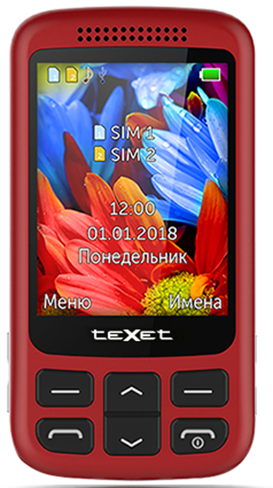 Texet TM-501, Red