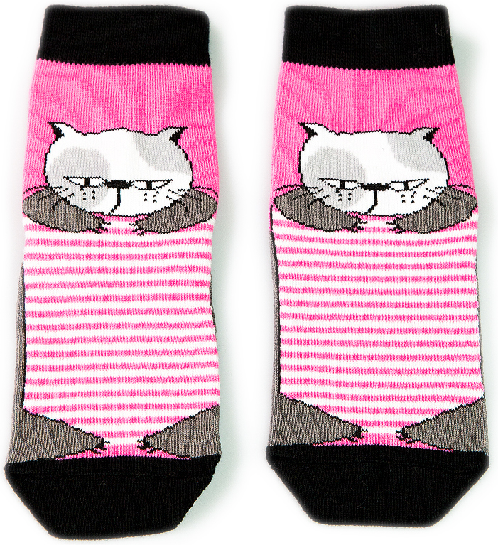 Носки детские Mark Formelle, цвет: ярко-розовый. 400K-505_B2-8400K. Размер 14 (22/24)