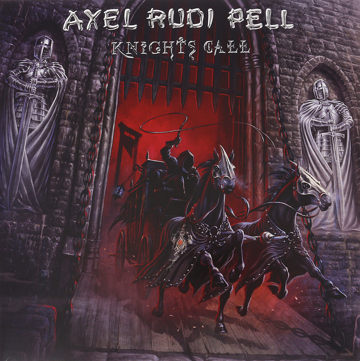 Аксель Руди Пелл Axel Rudi Pell. Knights Call (2 LP) рубашка fore axel