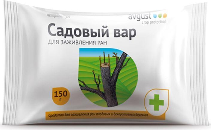 Брикет для заживления ран деревьев и кустарников Avgust Вар Садовый, 150 г футболка ран вася ран