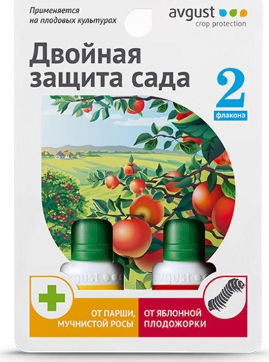 Комплекс препаратов от болезней и вредителей Avgust Раек+Сэмпай, 10 мл + 10 мл защита от болезней