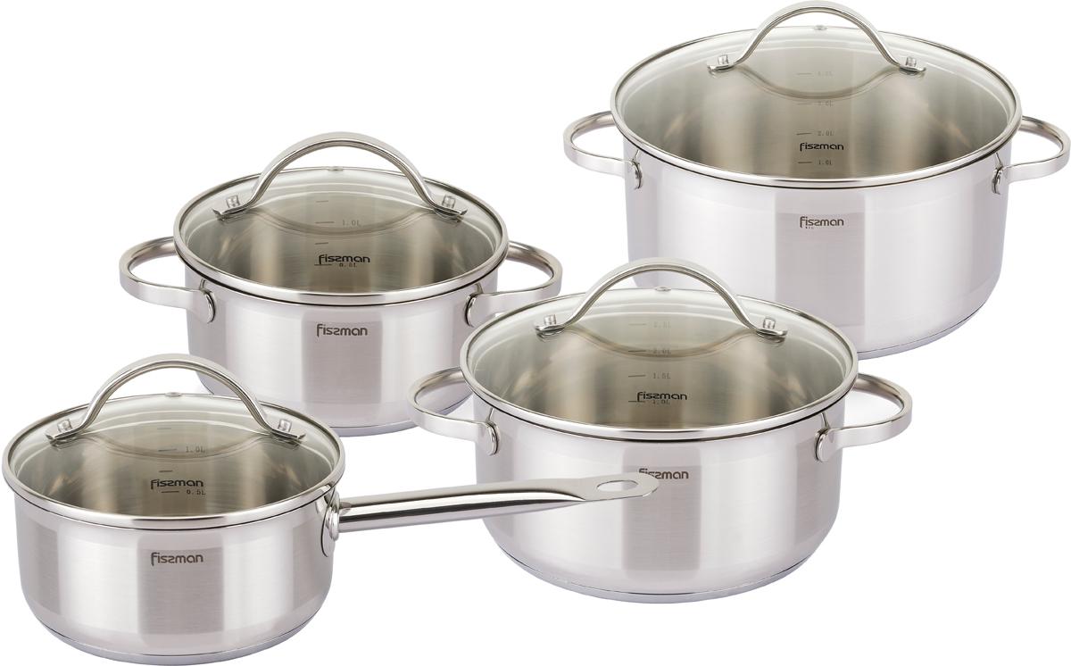 Набор посуды Fissman Gabriela, 8 предметов набор посуды polaris verona 04s
