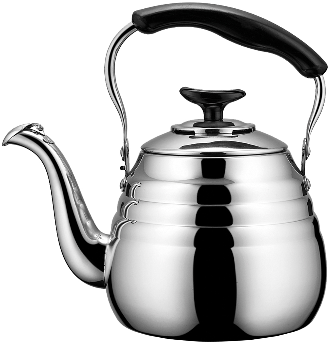 Чайник Fissman Deauville, со свистком, 1 л чайник fissman petite fleur для кипячения воды и заваривания чая 1 2 л
