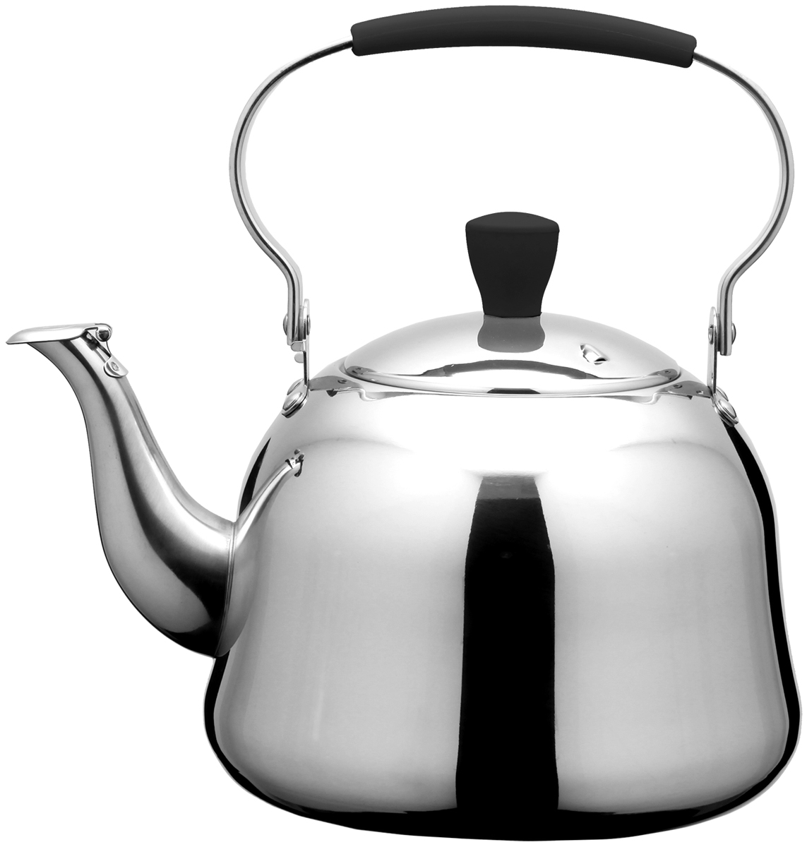 Чайник Fissman Rooibos, для кипячения воды и заваривания чая, 1 л stahlberg rg чайник для кипячения воды 7 0 л