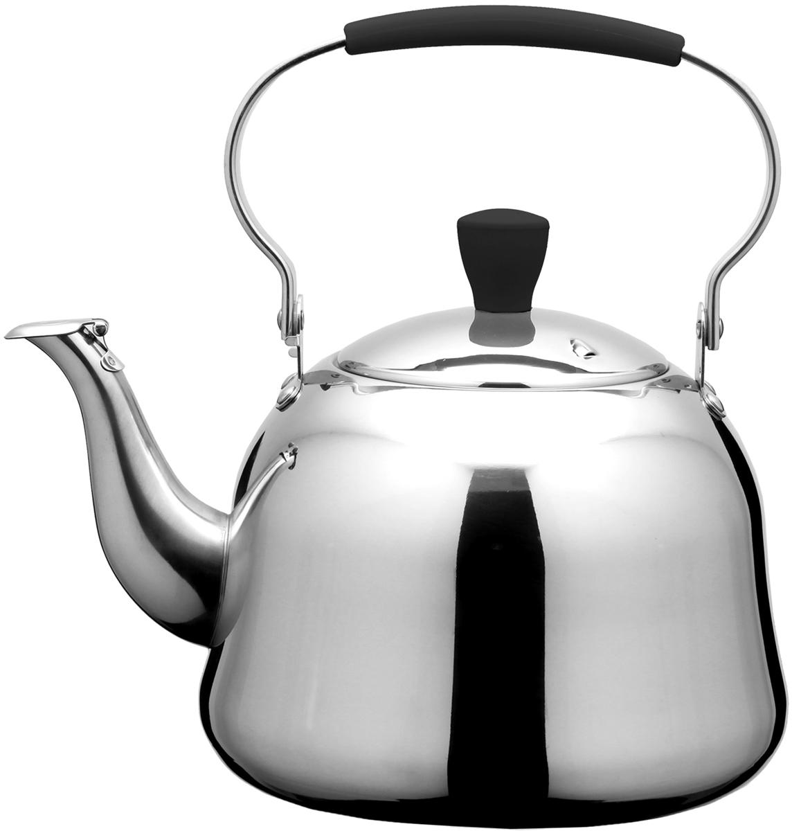 Чайник Fissman Rooibos, для кипячения воды и заваривания чая, 2 л gipfel чайник для кипячения воды visit 2 7 л