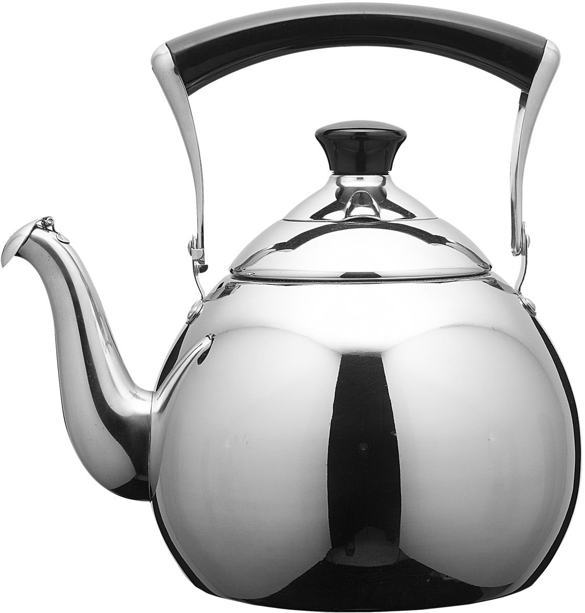 Чайник Fissman Jasmine Pearl, со свистком, 1 л чайник fissman petite fleur для кипячения воды и заваривания чая 1 2 л