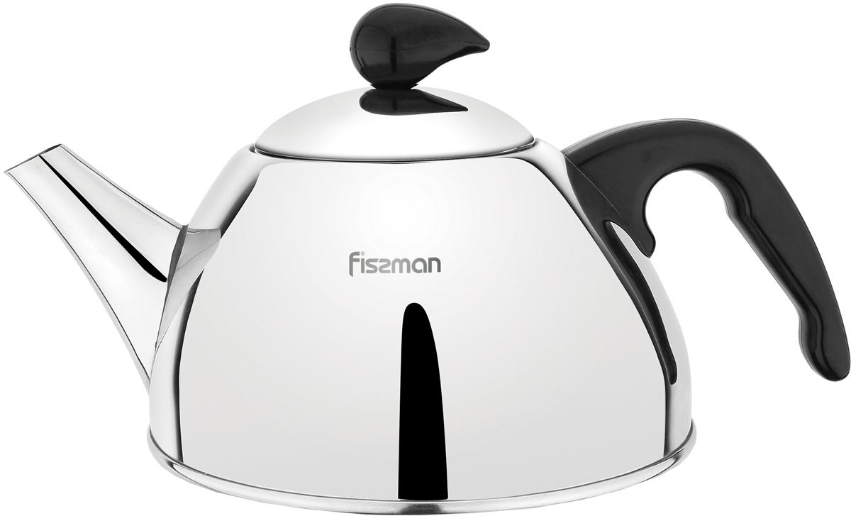 Чайник Fissman Lavander, для кипячения воды и заваривания чая, 1 л чайник fissman petite fleur для кипячения воды и заваривания чая 1 2 л
