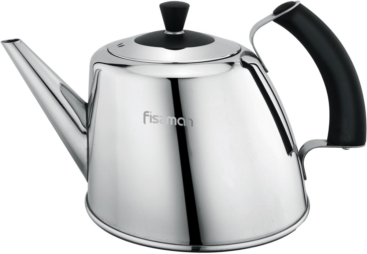 Чайник Fissman Grande Fleur, для кипячения воды и заваривания чая, 1,8 л фоторамка image art 6012 4pk красная