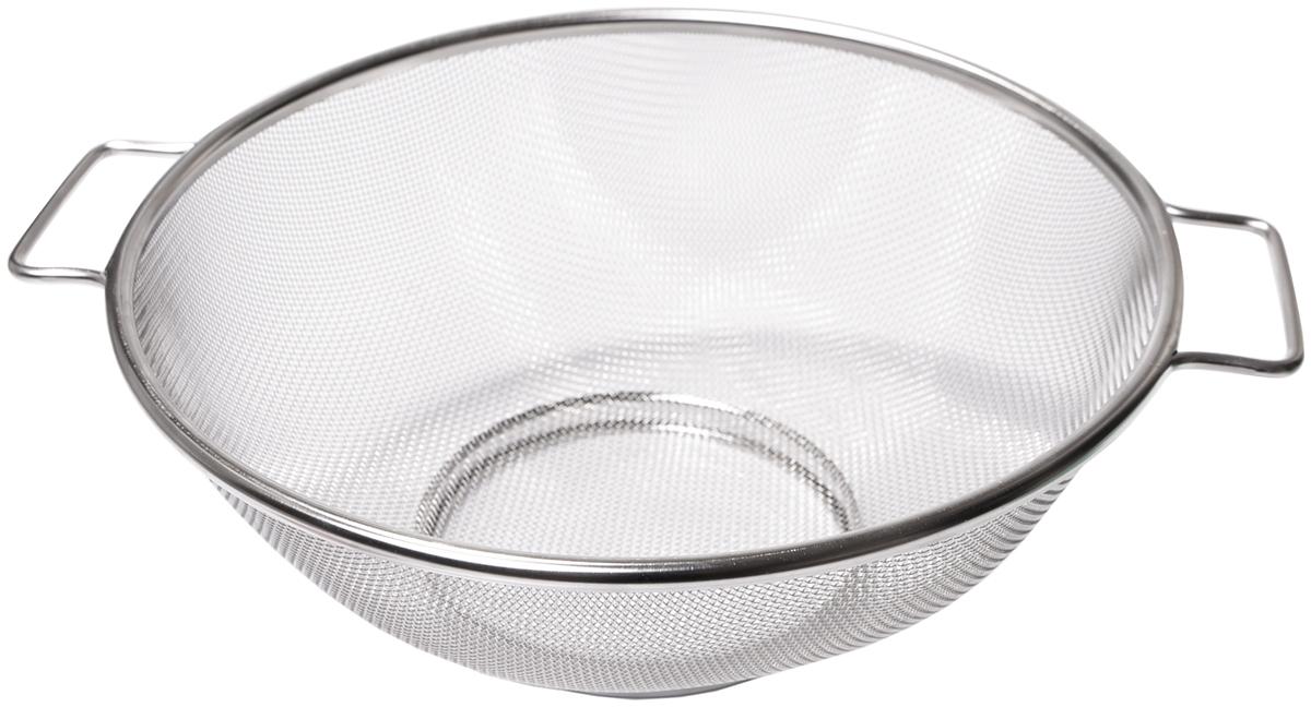 """Дуршлаг """"Fissman"""" изготовлен из экологически безопасной, высококачественной нержавеющей стали. Такая сталь не ржавеет, не окисляется, не деформируется при длительной эксплуатации, легко моется и чистится. Данный предмет непременно станет украшением вашей кухни."""