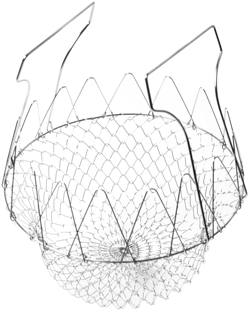 Корзина для жарки во фритюре и бланширования Fissman, диаметр 23 см корзина для жарки во фритюре и бланширования fissman диаметр 23 см