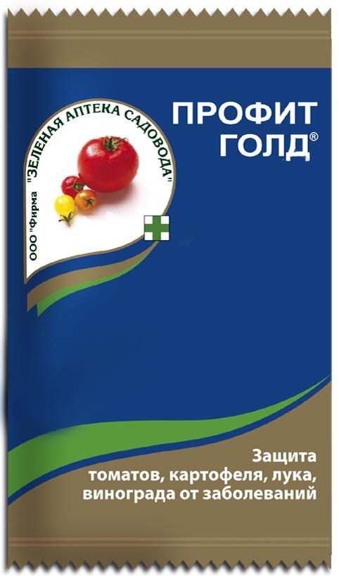 Порошок от болезней Зеленая аптека садовода Профит Голд, 6 г