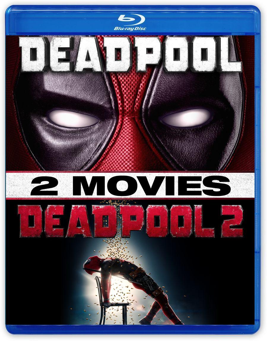 Дэдпул / Дэдпул 2: Коллекционное издание (2 Blu-ray) видеодиски нд плэй омерзительная восьмерка blu ray