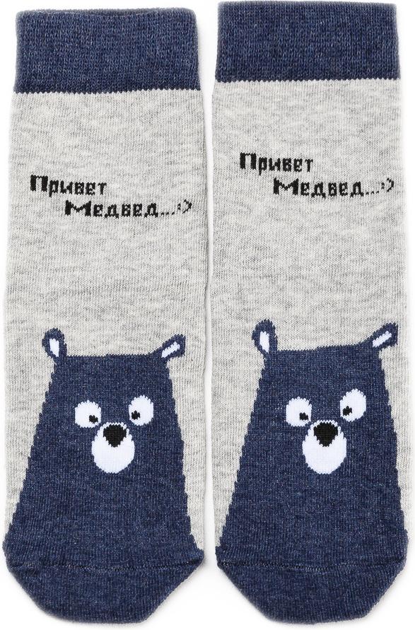 Носки детские Mark Formelle, цвет: джинсовый меланж. 400K-628_B3-8400K. Размер 16 (25/27)