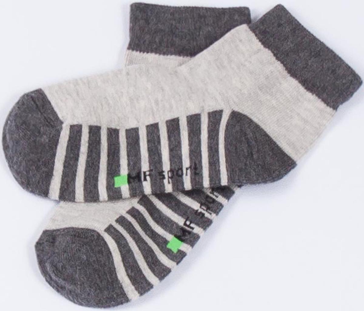 Носки детские Mark Formelle, цвет: серый меланж. 404C-314_B3-8404C. Размер 16 (25/27)