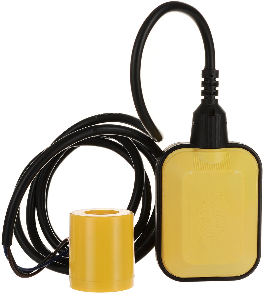 Универсальный поплавковый выключатель WWQ серии FSОсуществляет контроль уровня жидкости в системах водоснабжения или водоотведения (резервуары, колодцы, бассейны, септики и т.п.).Необходим для автоматического управления бытовым электронасосом в качестве датчика уровня воды, для защиты электронасоса от работы в отсутствии перекачиваемой воды (от «сухого хода»), для отключения/включения электронасоса при снижении/повышении уровня перекачиваемой воды до контролируемого значения, для управления работой любых других электроприборов, в зависимости от уровня воды в контролируемом резервуаре