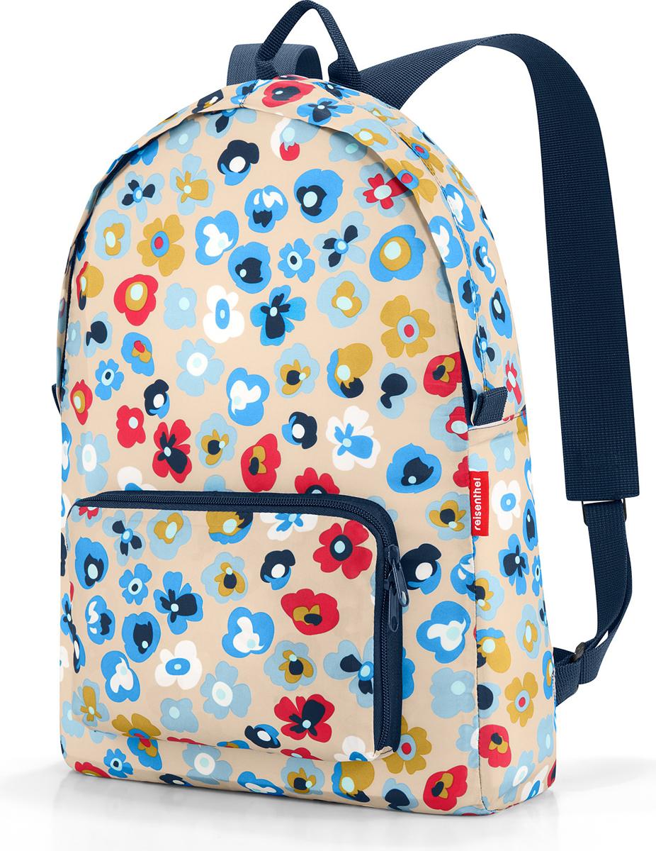 Рюкзак женский Reisenthel Mini Maxi, цвет: разноцветный. AP6038 сумки reisenthel сумка складная mini maxi shopper bloomy