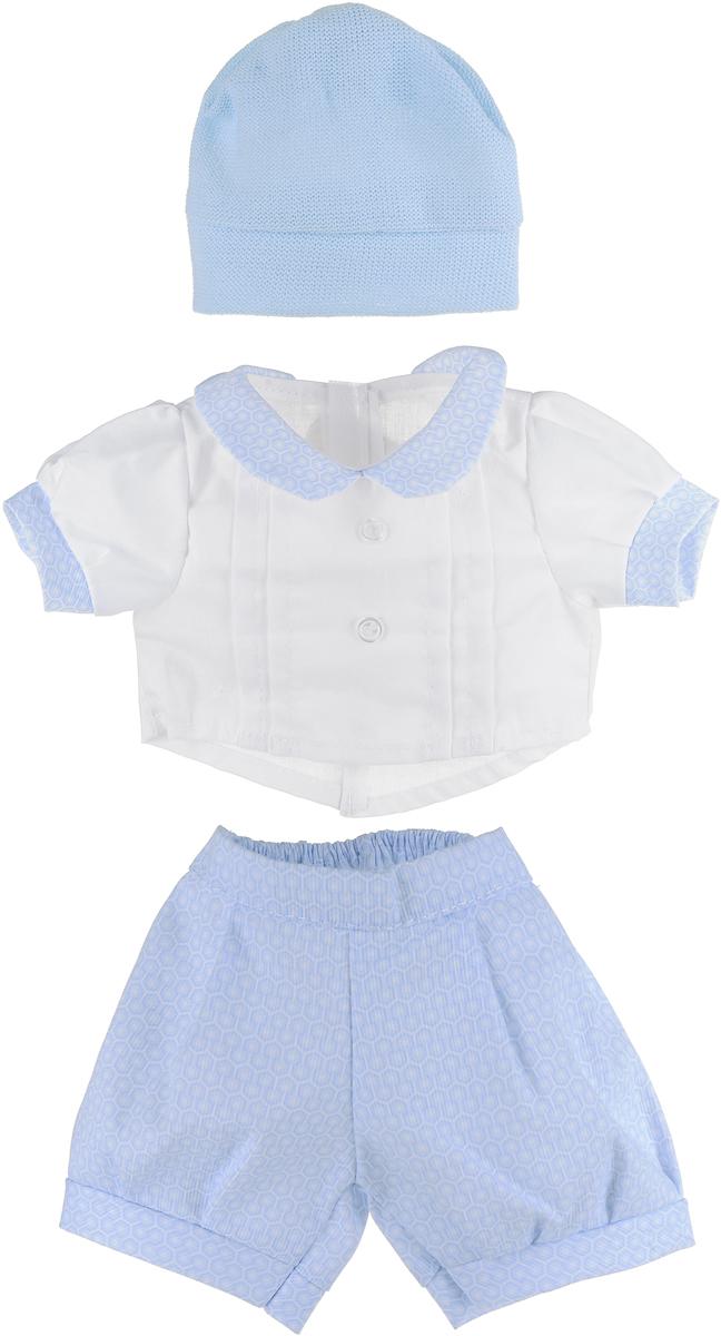 Juan Antonio Комплект одежды для кукол высотой цвет белый голубой 42 см jorge juan туфли