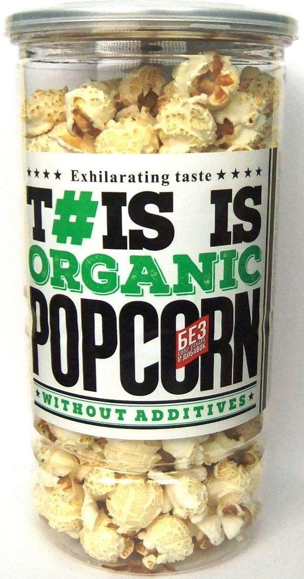 Phis is Popcorn Органик попкорн, 50 г