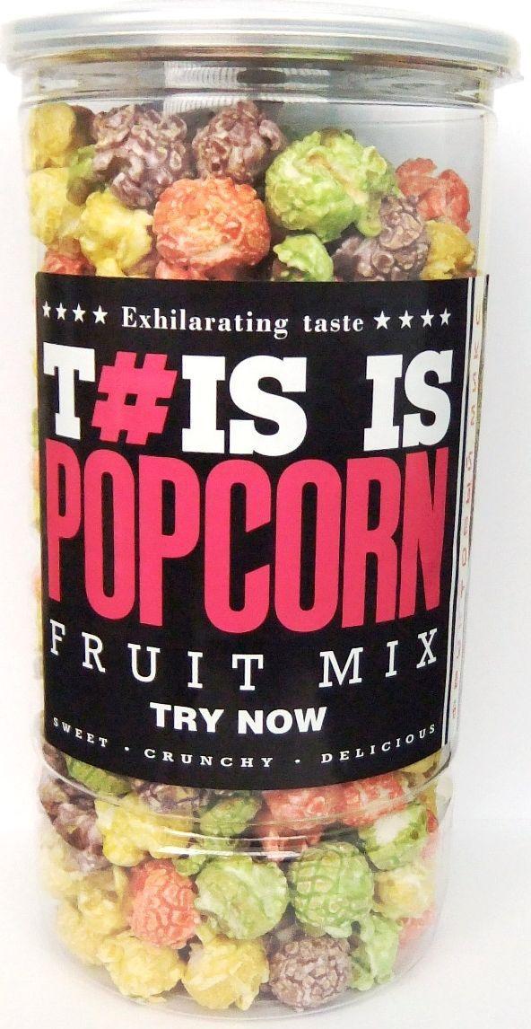 Phis is Popcorn фруктовый микс попкорн, 150 г