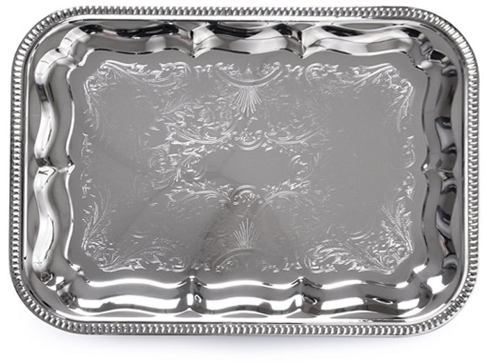 """Изящный поднос """"Fissman"""" предназначен стать украшением любого стола. Используйте его для подачи основных блюд, салатов, закусок, десертов и выпечки.Поднос """"Fissman"""" идеально подходит для сервировки на свежем воздухе."""