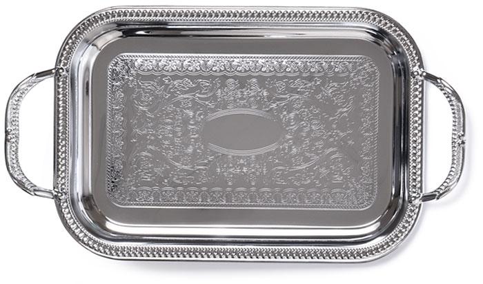 """Изящный поднос """"Fissman"""" предназначен стать украшением любого стола. Используйте его для подачи основных блюд, салатов, закусок, десертов и выпечки. Поднос """"Fissman"""" идеально подходит для сервировки на свежем воздухе."""