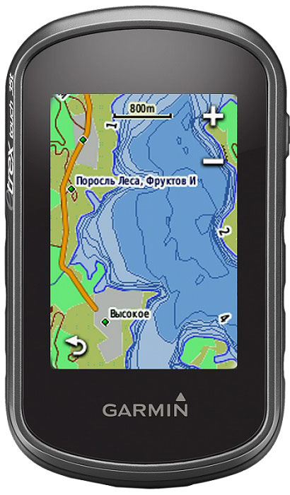 Навигационный приемник Garmin eTrex Touch 35 garmin навигационный приемник drive 50 rus lmt gps 010 01532 45