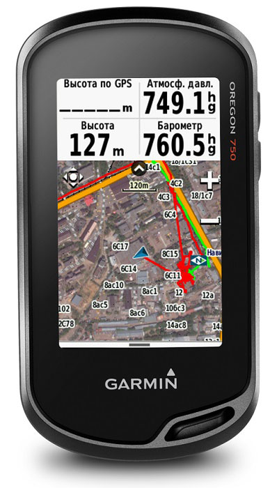Навигационный приемник Garmin Oregon 750t портативный gps навигатор garmin oregon 750t карты топо 6 xx
