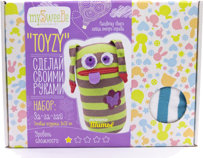 Toyzy Набор для шитья игрушки За-За-Зай набор для вязания toyzy кот грустик tz k001