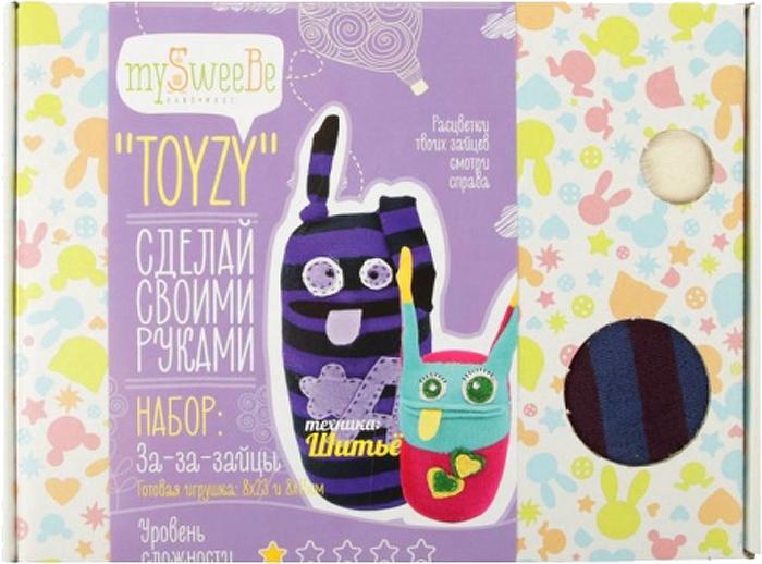Toyzy Набор для шитья игрушки За-За-Зайцы набор для вязания toyzy кот грустик tz k001