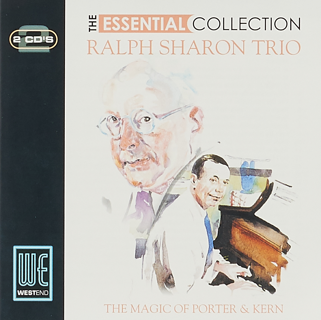 Ральф Шэрон The Essential Collection. Ralph Sharon. The Magic Of Porter & Kern (2 CD) цена