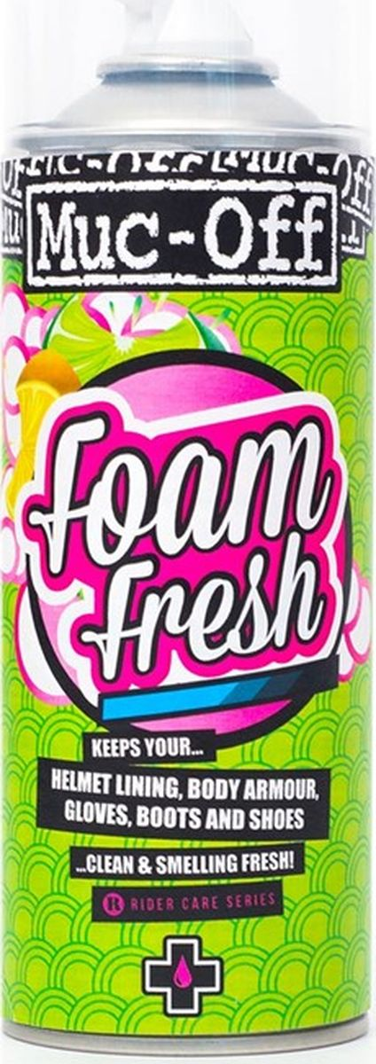 Очиститель шлема Muc-Off Foam Fresh, 400 мл