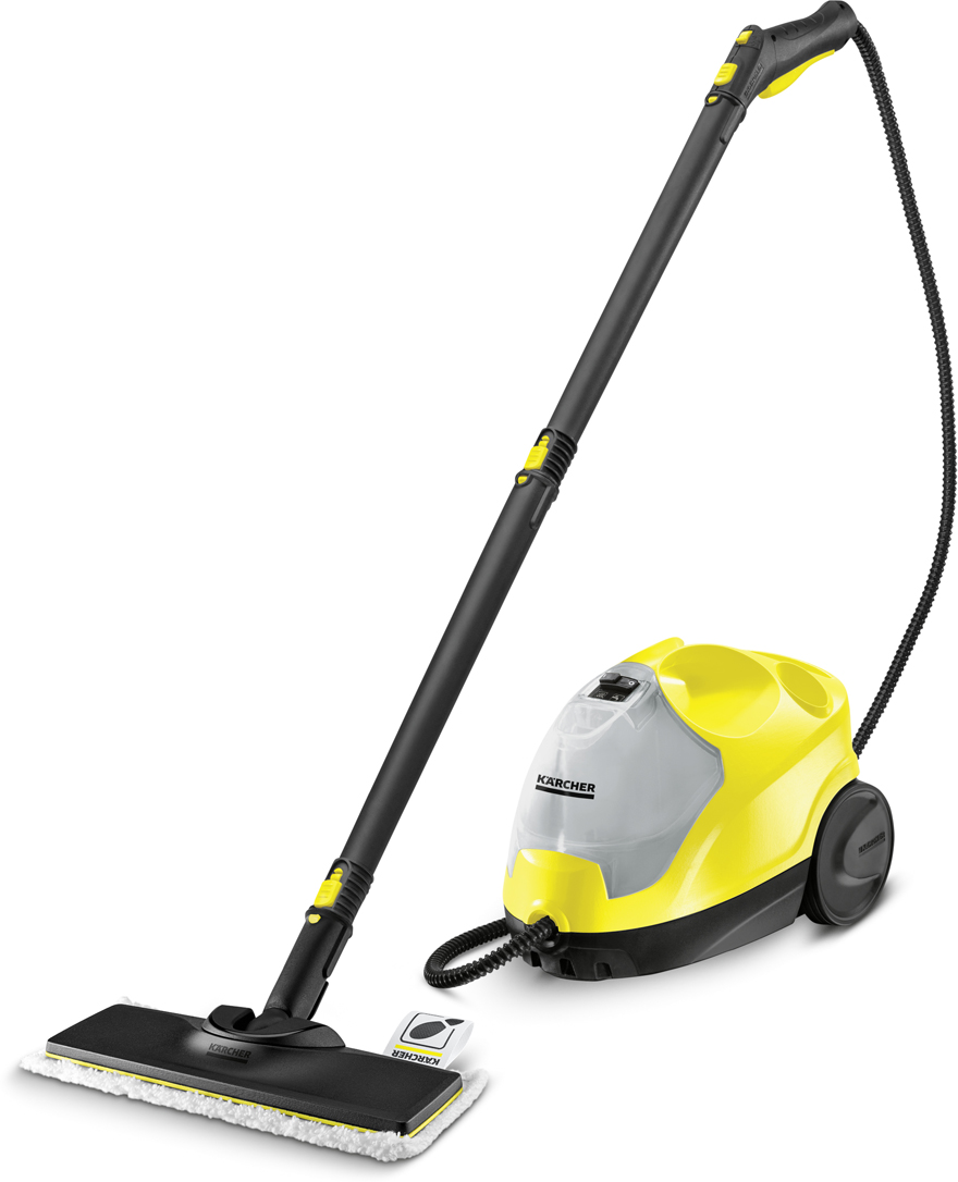 Karcher SC 4 EasyFix, Yellow Black пароочиститель