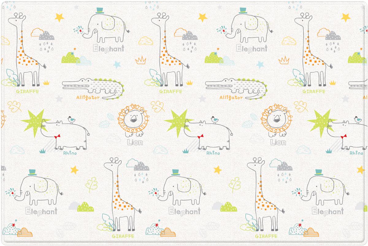 Parklon Pure Soft Развивающий коврик Арт-деко Зоопарк