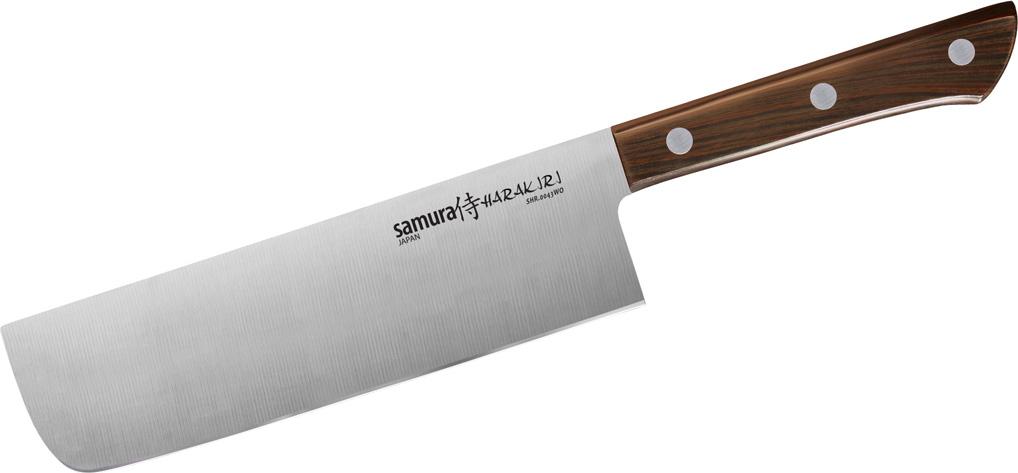 """Нож кухонный Samura """"Harakiri"""", накири."""