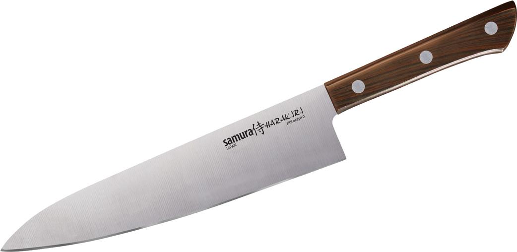 """Нож кухонный Samura """"Harakiri"""", шеф."""