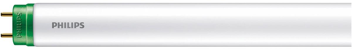 Долговечное и высококачественное светодиодное рабочее освещениеСветодиодные линейные трубчатые лампы Philips отличаются невероятно долгим сроком службы и обеспечивают экономию электроэнергии. Благодаря высокой цветовой температуре такая лампа станет идеальной заменой линейной люминесцентной лампе (TL) и прослужит долгие годы.Нет необходимости ждать: светодиодные лампы Philips обеспечивают высокую яркость сразу после включения. Просто щелкните выключателем — и ваша комната мгновенно наполнится светом.Благодаря долгому сроку службы (до 15 000 часов) можно забыть о постоянной замене трубчатых ламп и наслаждаться превосходным освещением более 15 лет.Светодиодная лампа позволяет сэкономить до 80 % электроэнергии по сравнению с обычной лампой. Она окупит свою стоимость и будет экономить ваши средства в течение долгих лет. Кроме того, эта лампа не наносит вреда окружающей среде.