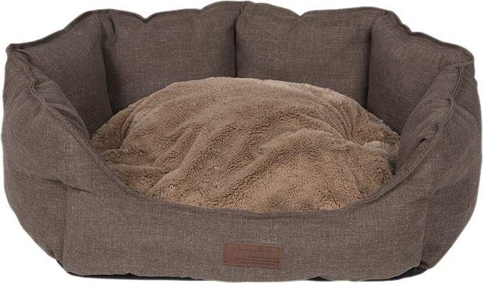 """Лежанка для животных Lion Manufactory """"Бруно"""", цвет: коричневый, 59 х 21 см"""