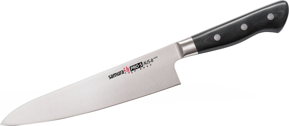 """Нож кухонный Samura """"Pro-S"""", шеф."""