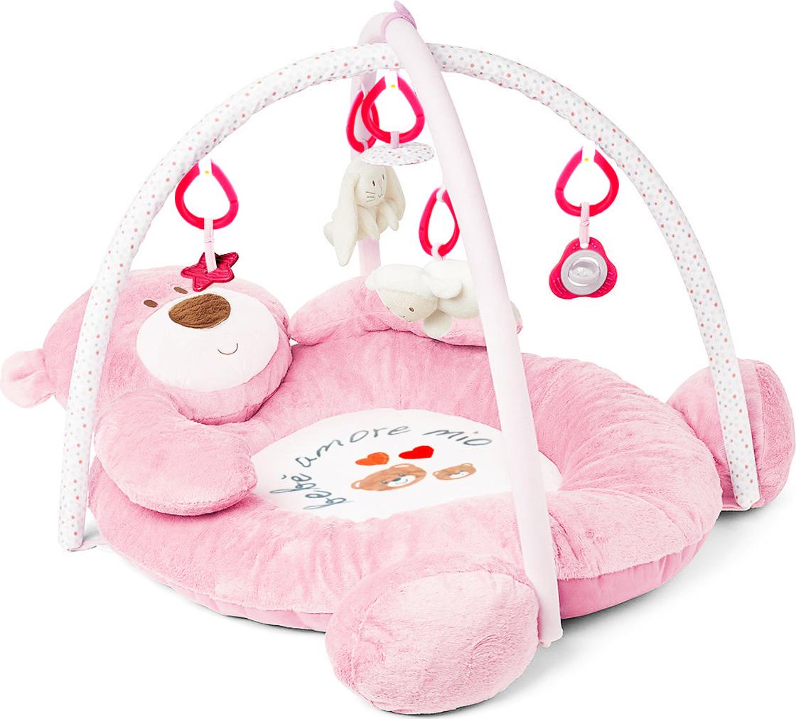 Felice Развивающий коврик Медвежонок цвет розовый 100 х 80 см автолюльки