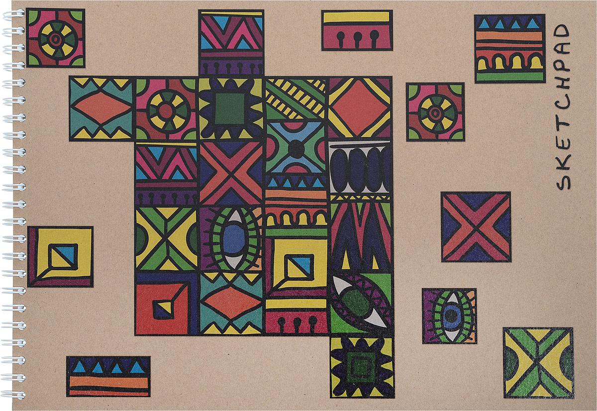 Канц-Эксмо Скетчпад Разноцветное настроение 40 листов формат А4 Квадраты auto floor mats for honda cr v crv 2007 2011 foot carpets step mat high quality brand new embroidery leather mats
