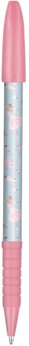 Expert Complete Ручка шариковая с дизайном Compliment Ballet 0,7 мм цвет чернил синий expert complete ручка шариковая stick цвет корпуса оранжевый синяя